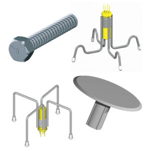Cast-in Coil Inserts